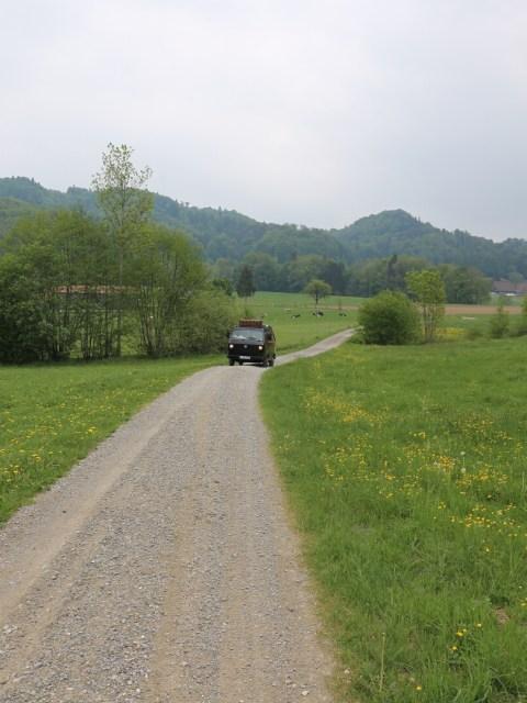 Der Weg zum Erlebnisbauernhof