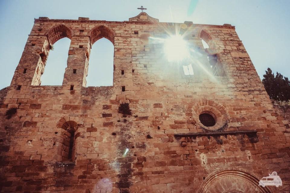 Peratallada hat ein mittelalterliches Flair