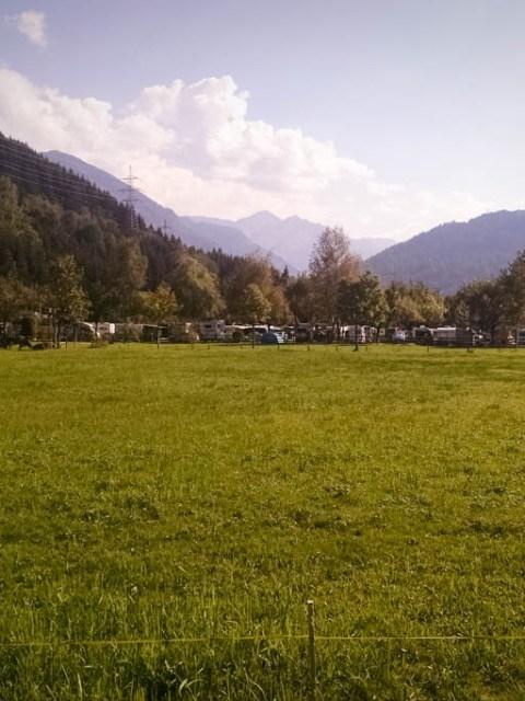 Panoramacamping Zell am See Stellplätze