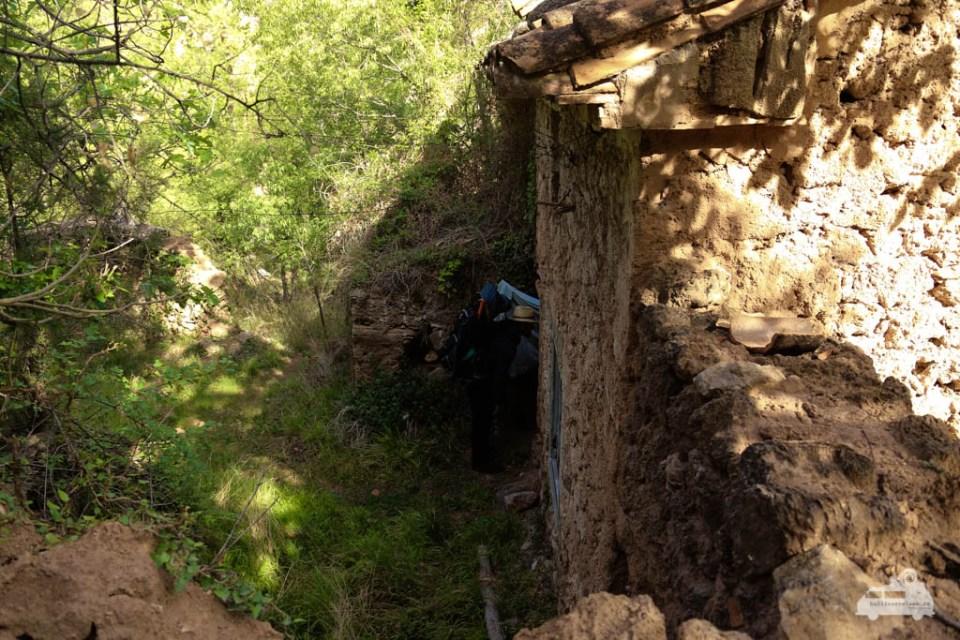 Alte Mühle in Spanien