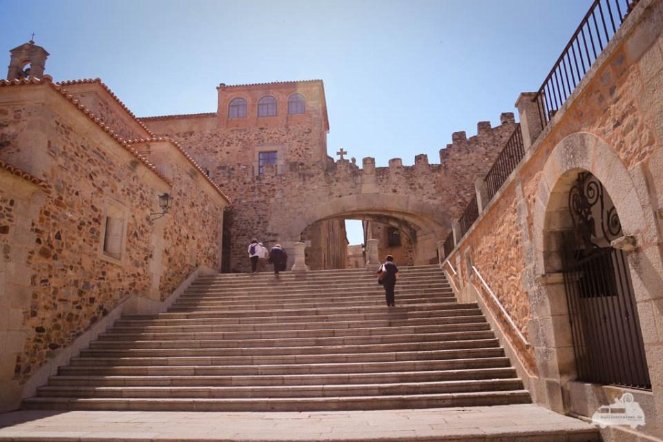 Stadtbesichtigung Cáceres