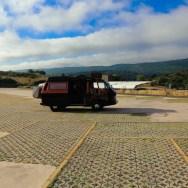 Bulli Parkplatz Monfragüe