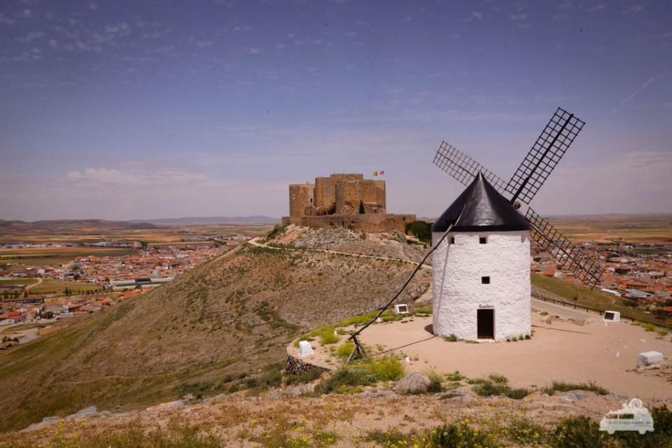 Burg in Cosuegra Spanien