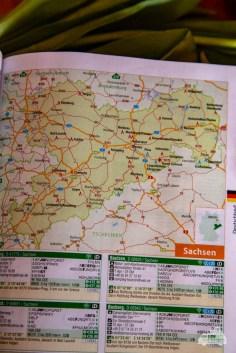 Auf den Folgezeiten gibt es die Übersichtskarten zu den jeweiligen Reisegebieten