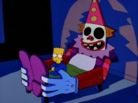 Bart Simpson Clown Bed