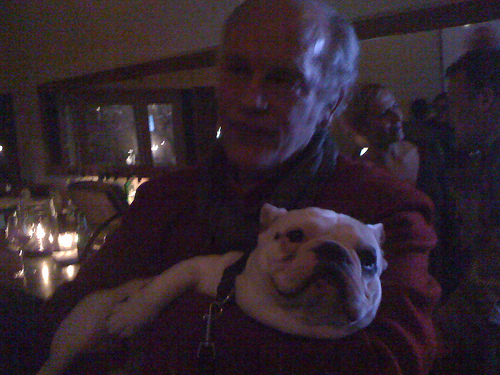 John Malkovich meets Po the French Bulldog