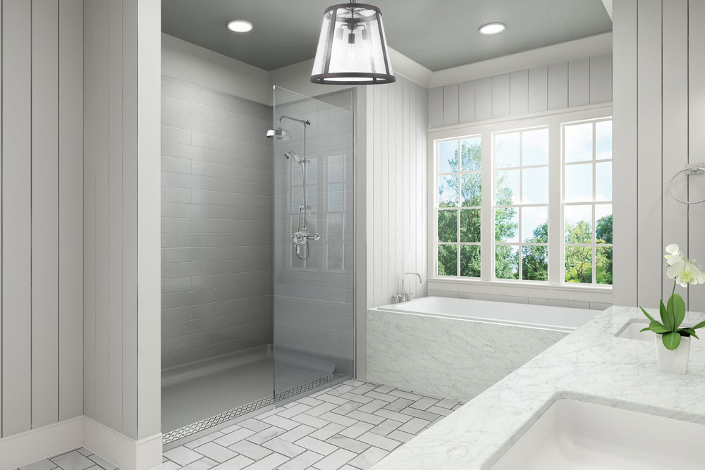 Barrier Free Showers In CT Custom Shower Installations