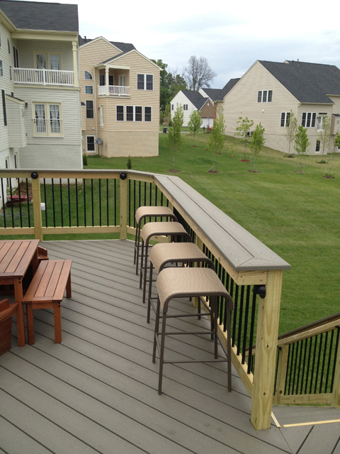 south riding deck seating