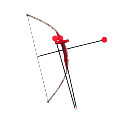 Red Camo Toy Bow and Arrow Trainer