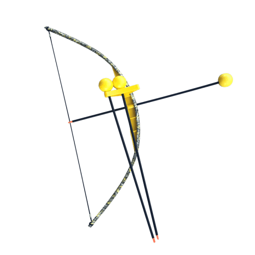 Yellow-Camo-Toy-Bow-and-Arrow-Trainer