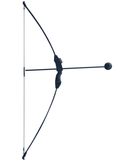 Black Pro Bow and Arrow Trainer