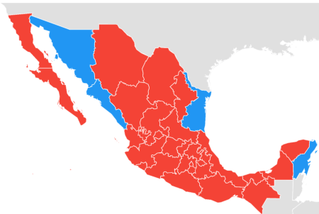 patriots raiders mexico gtrends map mexico