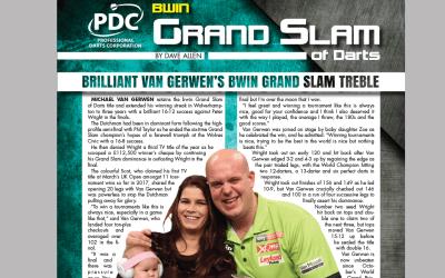 PDC Grand Slam Report