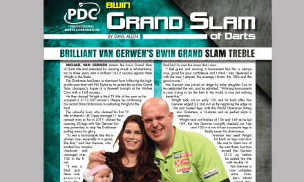 PDC Grand Slam Report