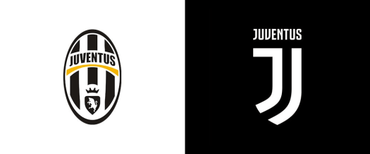 juventus logo before/after