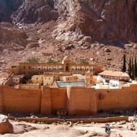 Манастирът Света Екатерина в Синайската планина