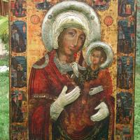 Чудотворната икона на Пресвета Богородица Портаитиса е древна и уникална