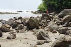 Rock beach in Mapaso