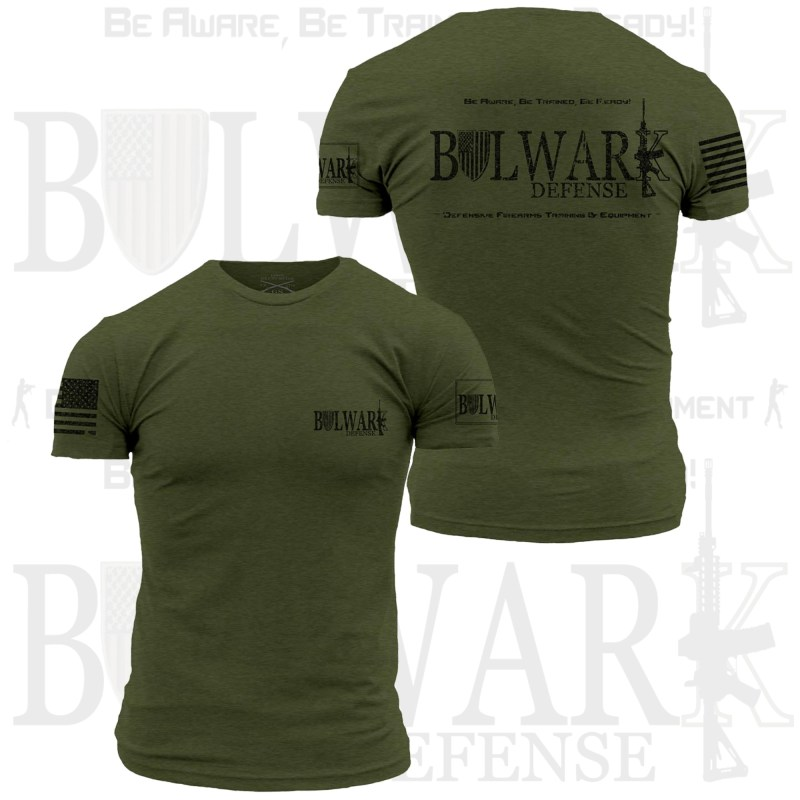 BULWARK DEFENSE - TShirt - Military Green
