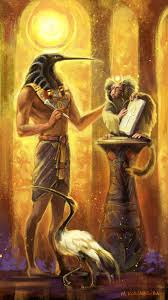 Artistic Depiction of Thoth