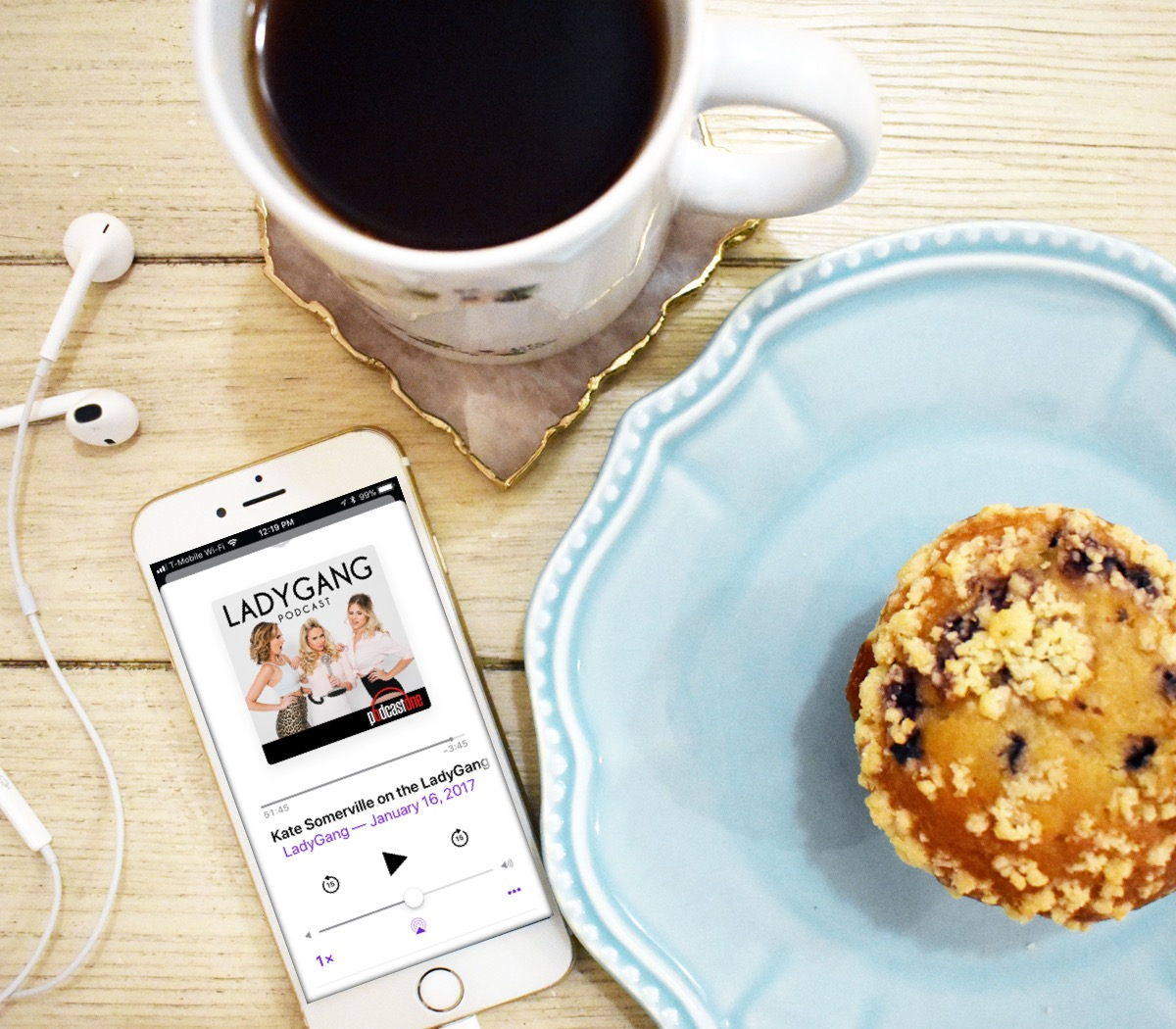 The Lady Gang Podcast by Bumble and Bustle2