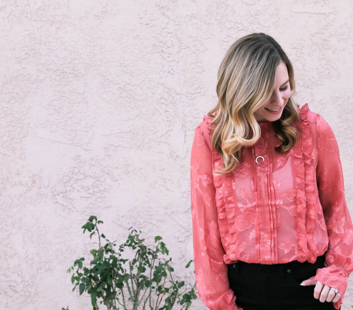 Fashion-Help-From-Ashley-Berleen-Coral-Floral-Top-Bumble-and-Bustle