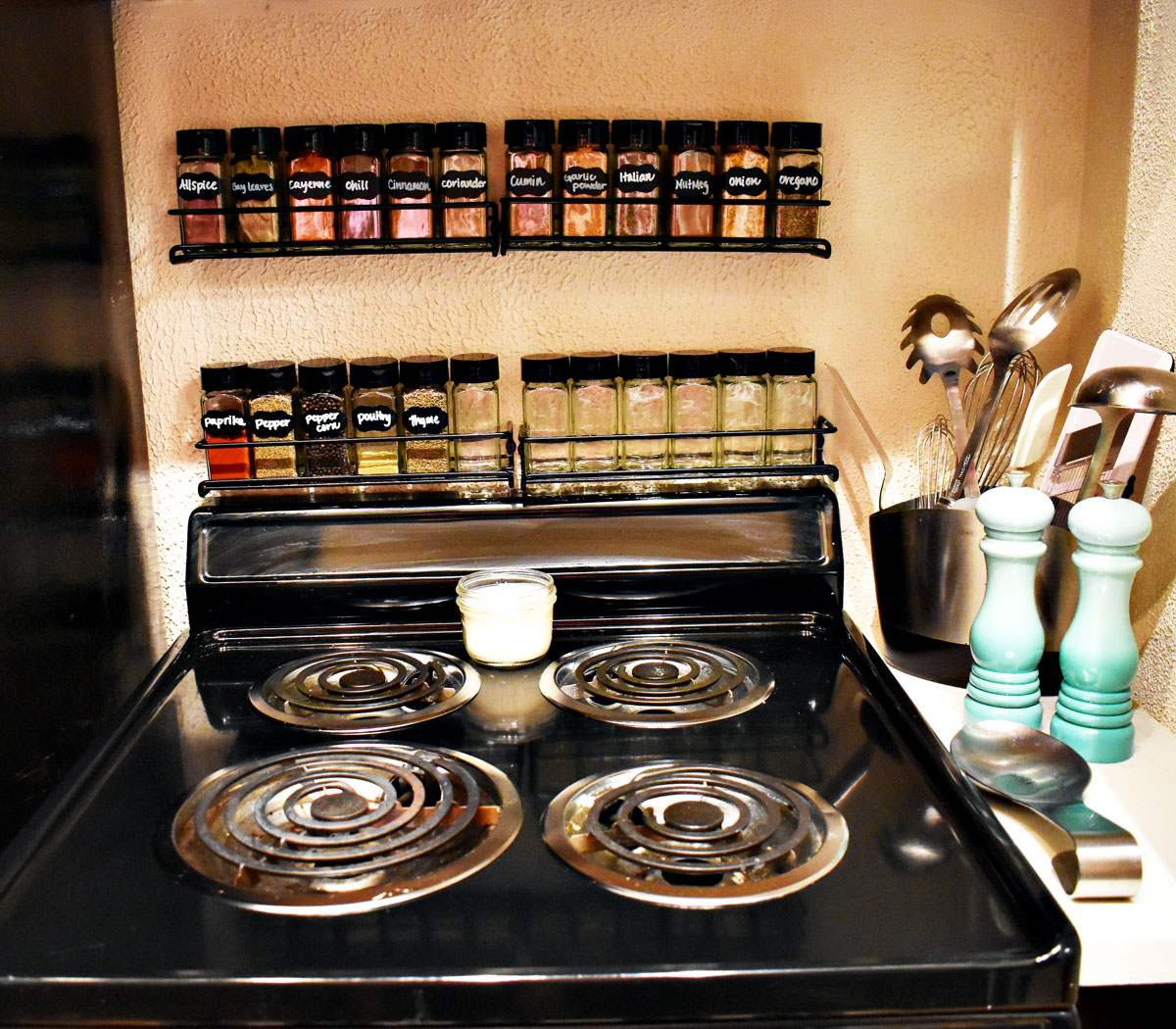 Mini Kitchen Makeover – Part 2: The Results! - Bumble and Bustle