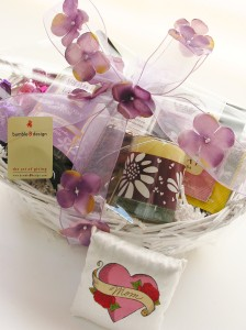 Mother's Day Gift Basket, bumble B design, Seattle