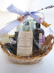 Time Out Relaxation Gift Basket, bumble B design, Seattle