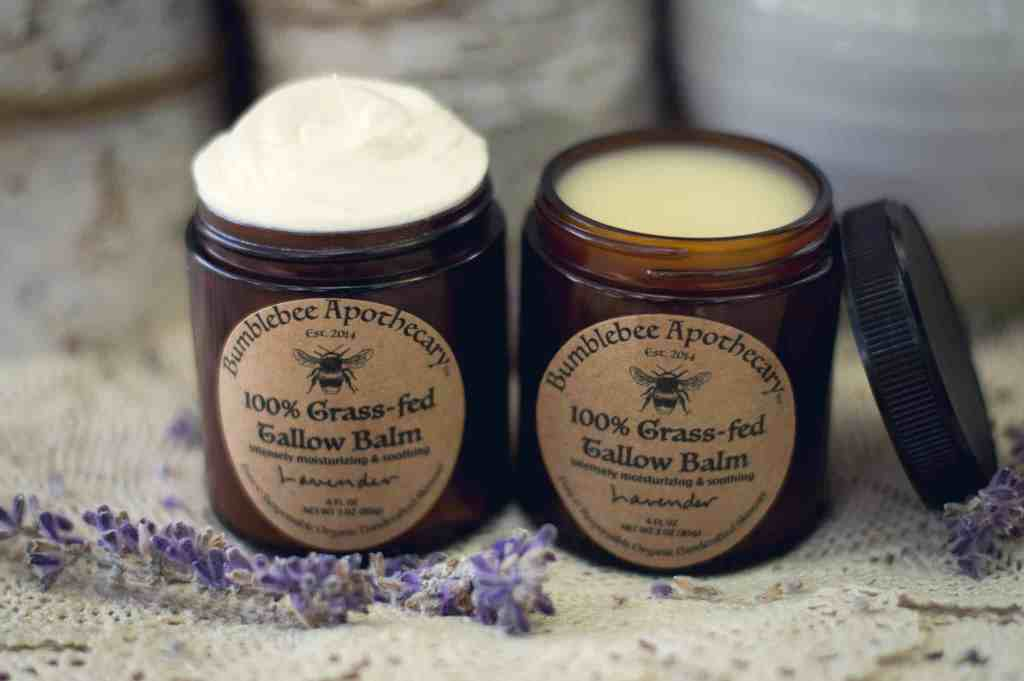 How to make tallow balm Bumblebee Apothecary whipped tallow balm buy tallow balm