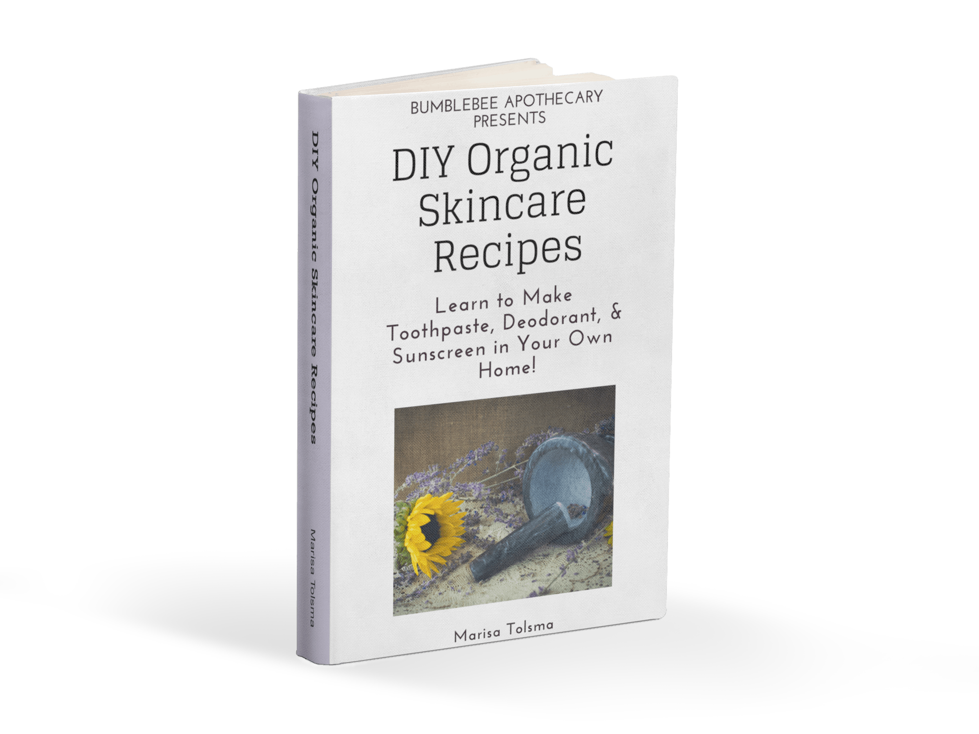 Organic Skincare Recipes Ebook