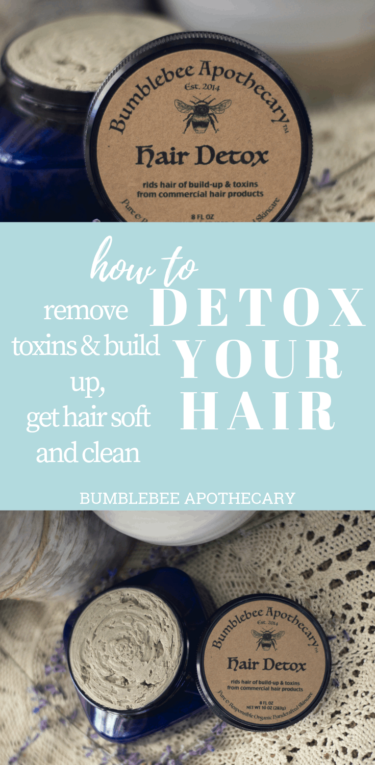 How to detox your hair with a hair mask DIY #hairdetox #hairmask #shampoobar #naturalhaircare
