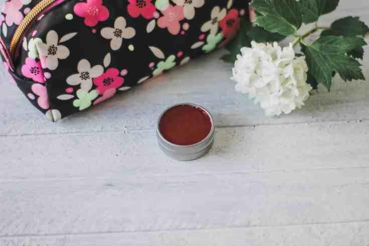 Tinted lip balm recipe