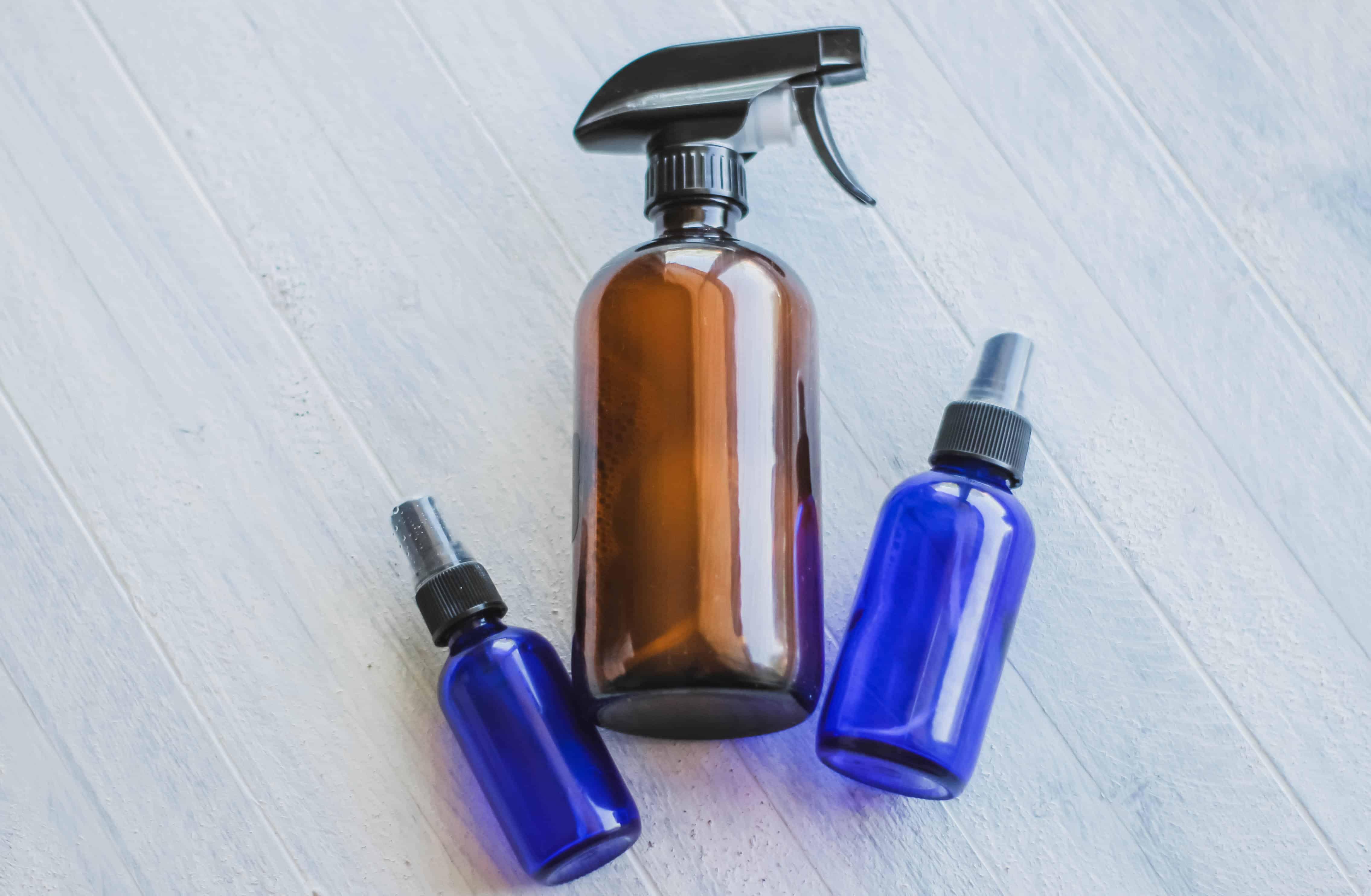 Essential oil spray recipes