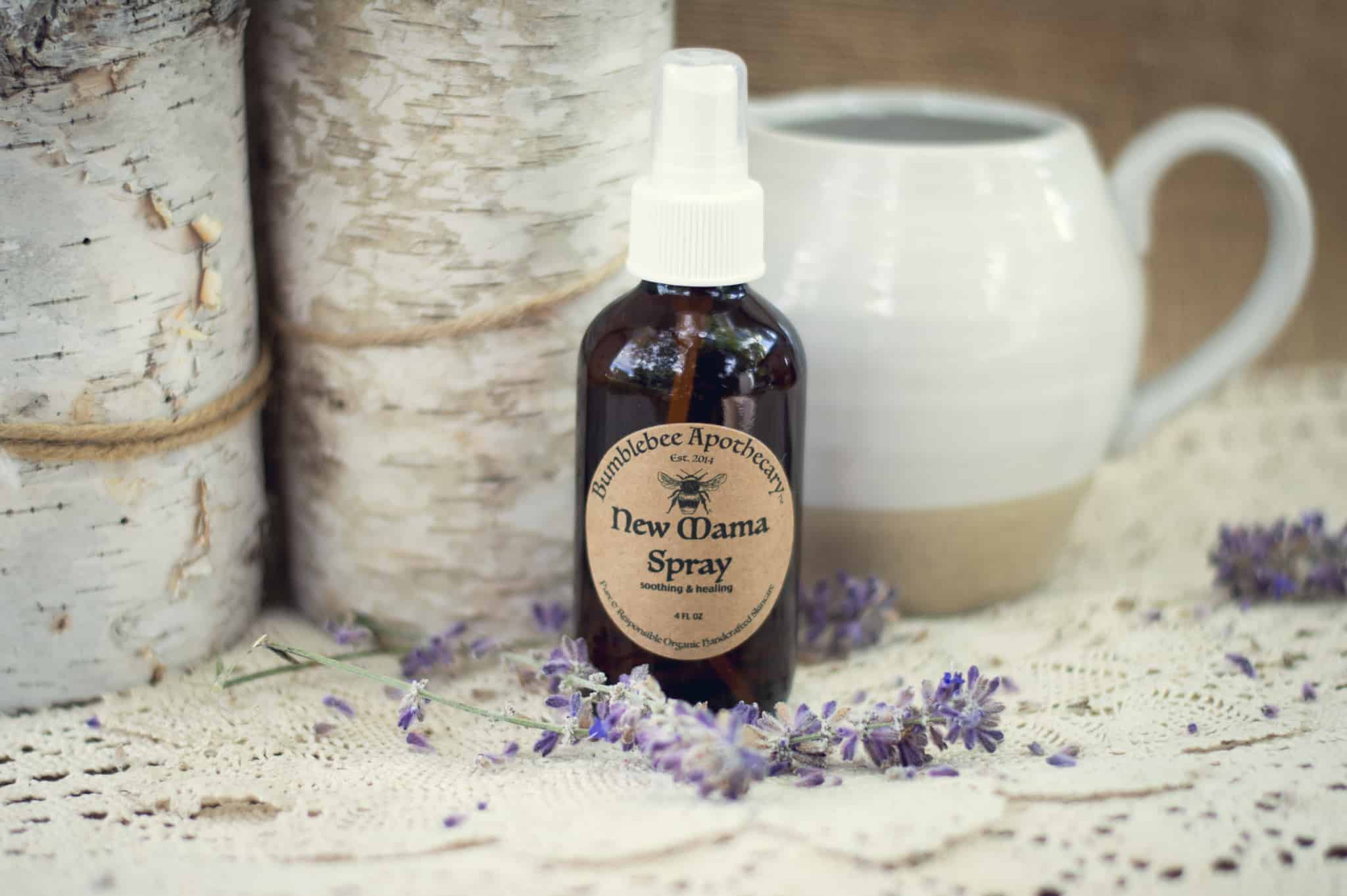 Postpartum healing spray recipe soothing