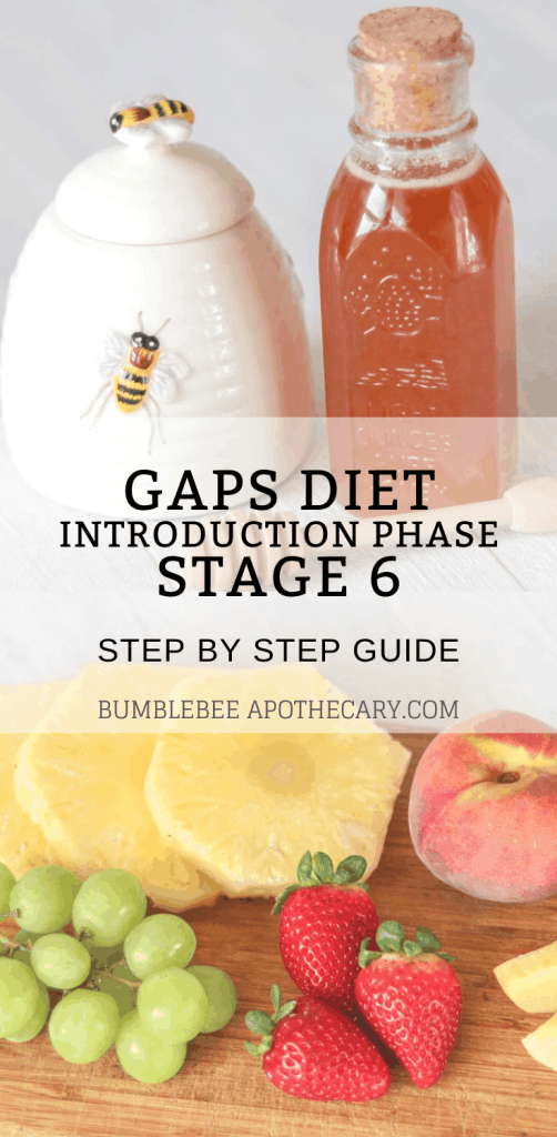 If you're wondering what foods to eat when on the GAPS intro diet, this is the guide for you! #gapsdiet #fruit #honey #desserts #baking