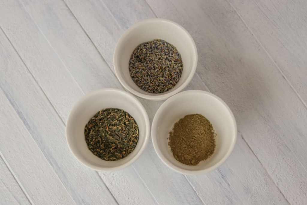 Herbal hair rinse acv