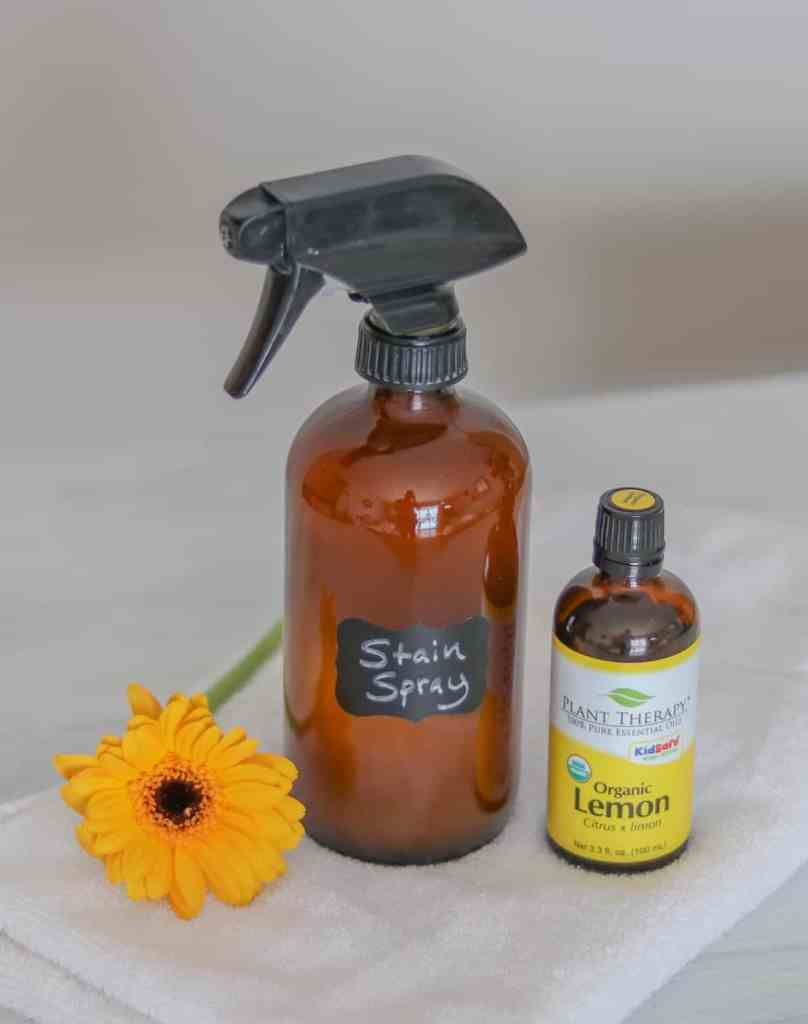How to make stain remover