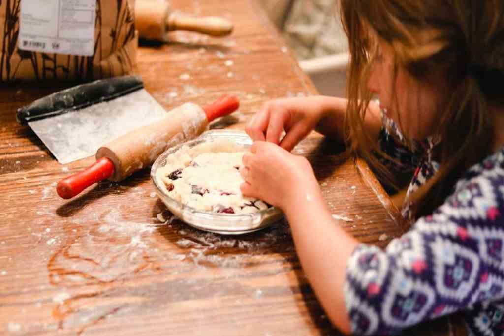 How to make lard pie crust