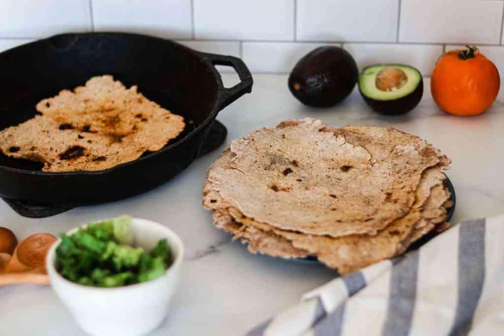 Sourdough tortillas recipe