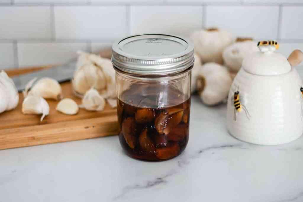 fermented garlic honey recipe