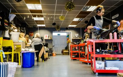 Scrapyard Salon – Crewe