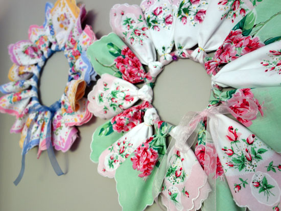 How To Make A Hankie Wreath Home Decor And Crafts With