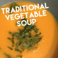 Recipe: Vegetable Soup (Like you'd get in a hotel in the Eighties)