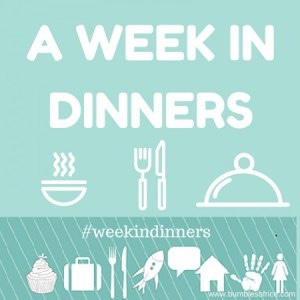 Week in Dinners - End of January 2019