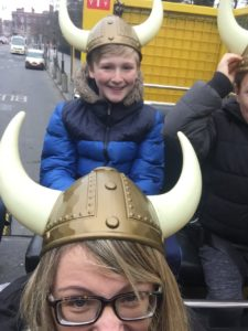 Days out in Dublin with kids - viking splash tour -what age