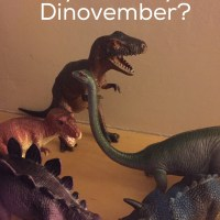 Are you ready for Dinovember?