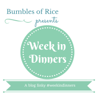 A Week in Dinners - November 2016