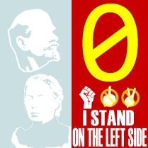 0 I stand on the left side