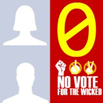 0 No vote for the wicked